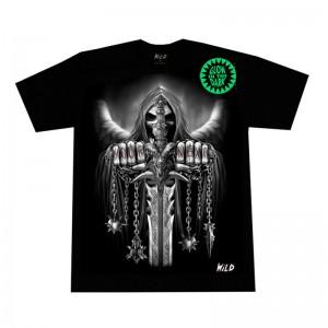 Camiseta skull sword