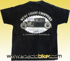 CAMISETA WEST COAST CHOPPERS BLACK