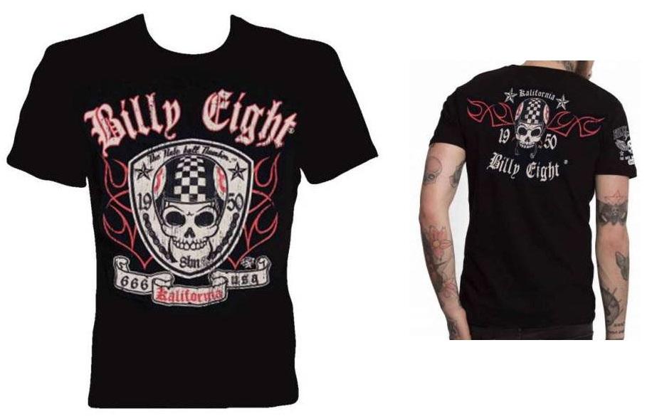 Camiseta custom Billy Eight 666 Kalifornia