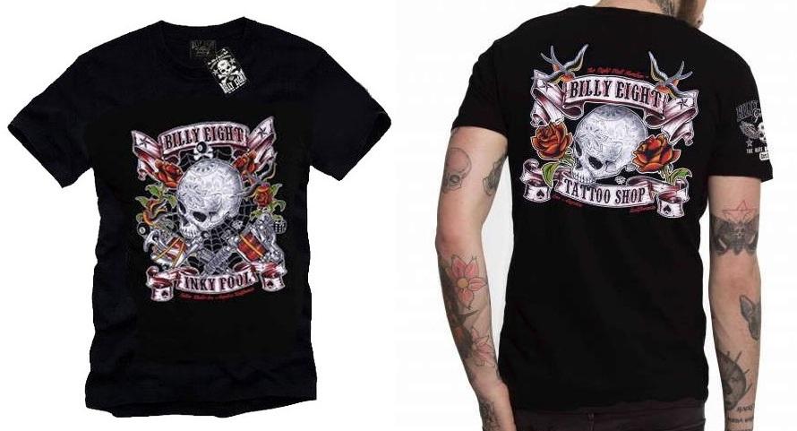 Camiseta custom Billy Eight Inky Fool