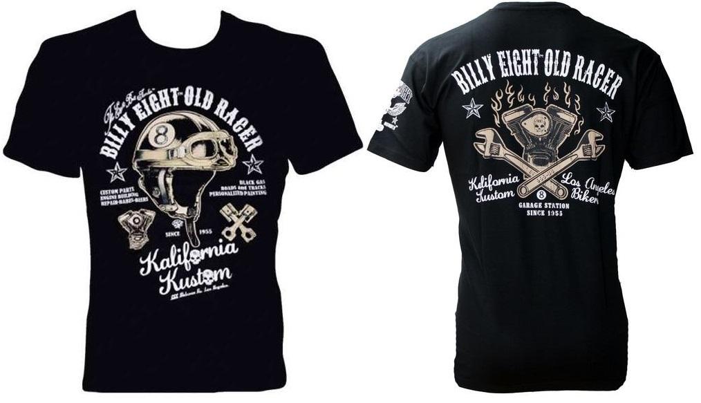 Camiseta Custom Billy Eight Old Racer