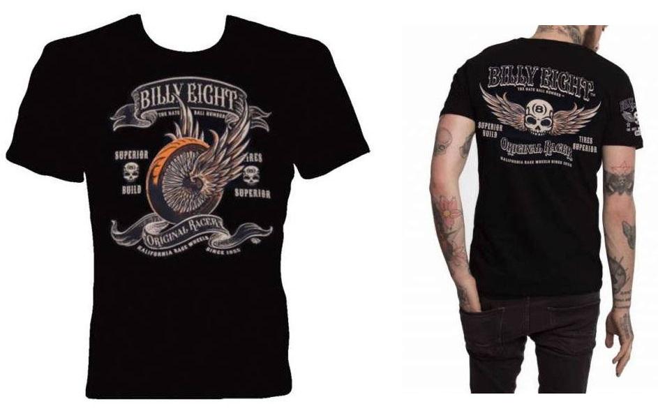 Camiseta custom Billy Eight Original Racer