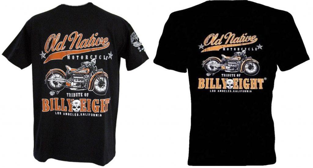 Camiseta Custom Billy Eight Old Native