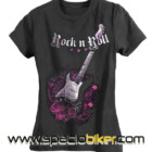 CAMISETA LADY ROCK AND ROLL