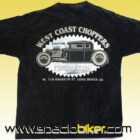 CAMISETA WEST COAST CHOPPERS BLACK CUSTOM