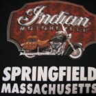 CAMISETA INDIAN MOTORCYCLE CLASSIC M/LARGA NEGRA